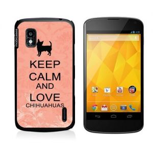 Keep Calm And Love Chihuahuas Coral Floral Google Nexus 4 Case - For Nexus 4. Truly unique Google Nexus 4 case that offers ultimate protection and adds style to your Google Nexus phone. Compatible with Google Nexus 4 our universal custom Google Nexus 4 cases offer the perfect fit for your phone no matter your service carrier. Compatible with Google Nexus 4 This lightweight and durable custom case allows easy access to all sensors ports and controls on your Google Nexus 4 while offering…