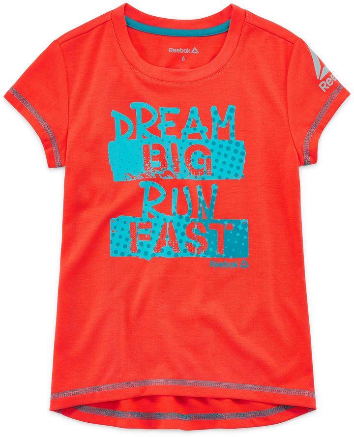 0902208db67280 This for the little persons gym shirt. little girls wanna be like their  mammas. Reebok Graphic T-Shirt-Preschool Girls