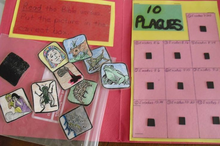 10 plagues folder  u0026quot game u0026quot  for review  it makes a great