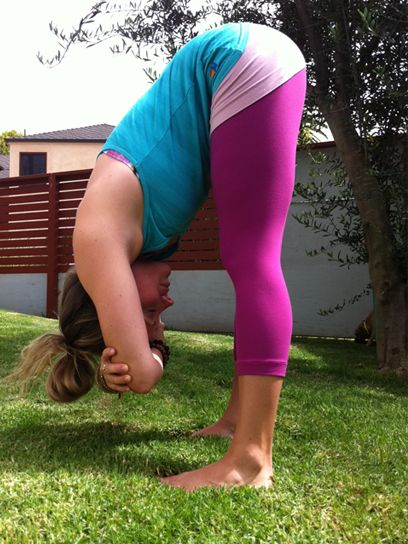 Basic yoga moves. Nice site too. There are no ads in the way of the descriptions.