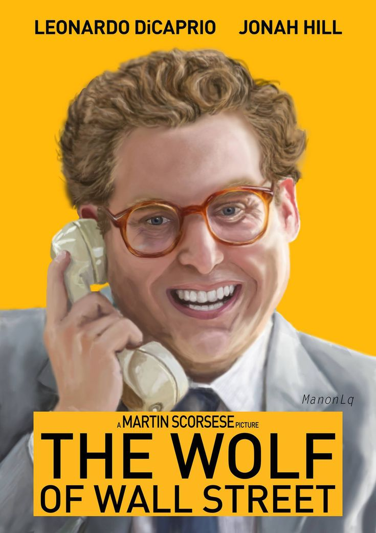 Jonah Hill - Donnie Azoff / The Wolf Of Wall Stree by ManonLq.deviantart.com on @DeviantArt