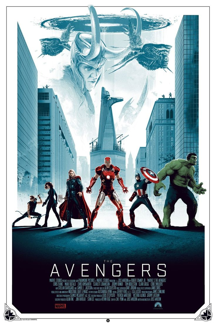 Matt Ferguson The Avengers Movie Poster Release From Grey Matter Art