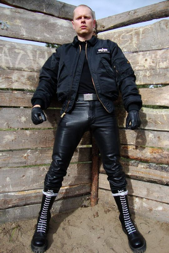 Gay leather boot camp