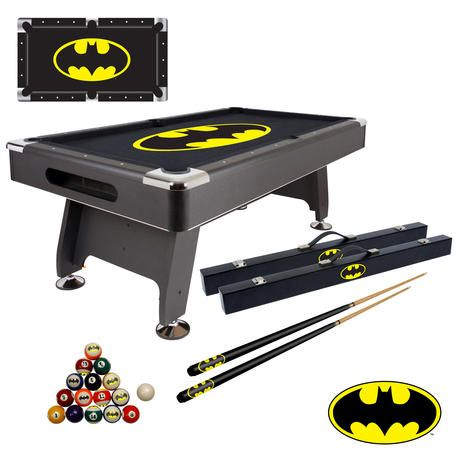 Show details for Pool Table Cues and Balls Package - Batman