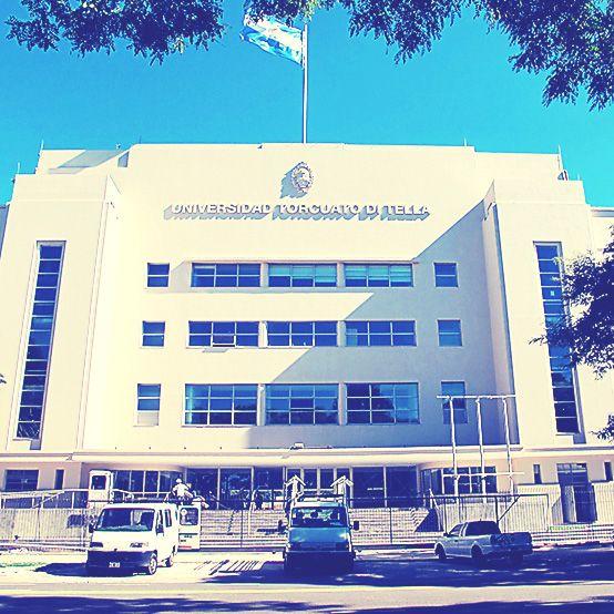 La fachada del Campus Alcorta, su lado más impactante.