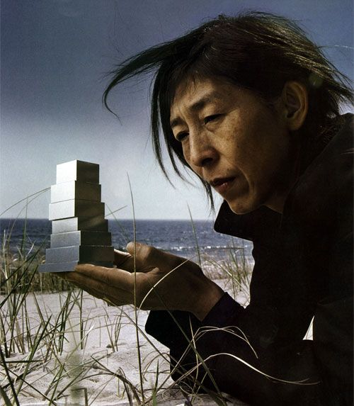 Kazuyo Sejima. Photograph by Annie Leibovitz November 2006