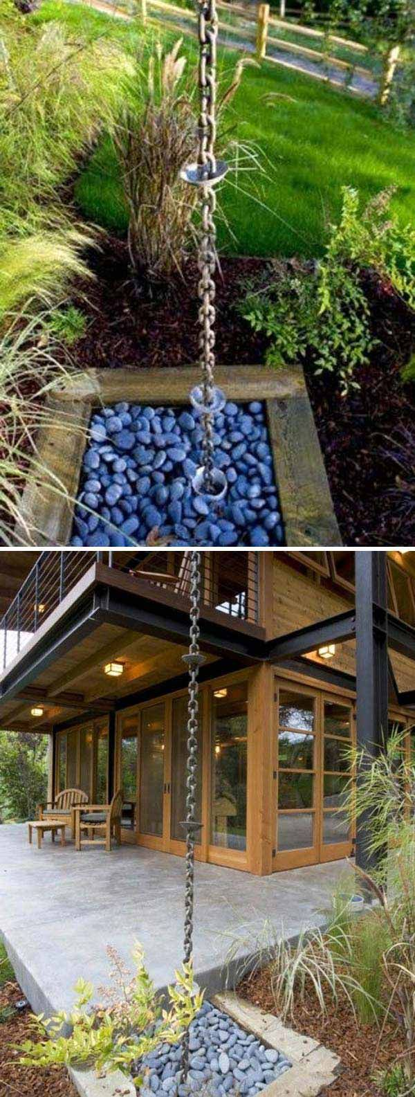 """Do you remember that we had published a greatly popular article """"20 Easy and Cheap DIY Ways to Enhance The Curb Appeal"""" some times ago? we are always trying our best to create fresh and useful contents to help you improve anything about your home. Building a downspout landscaping is that we thought of it […] #furnitureideascheap #landscapediycheapcurbappeal"""