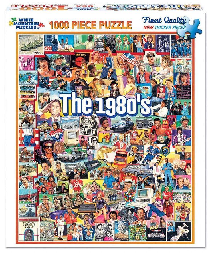 The Nineties 1 000 Piece Jigsaw Puzzle Unique Puzzles 90 S Gifts Always Fits Jigsaw Puzzles 1000 Piece Jigsaw Puzzles Puzzles