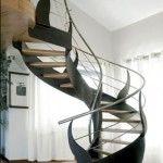 artistic modern staircase