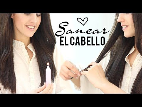 TRUCO: Cómo cortar las puntas del cabello sin perder el largo | Di adiós...