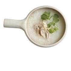 鶏とショウガの中華粥の作り方・レシピ   暮らし上手