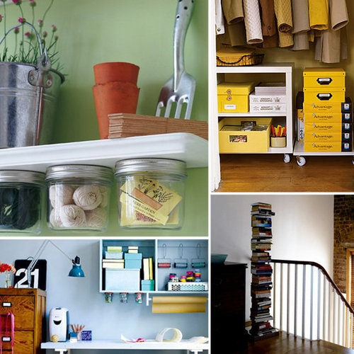 17 best images about organizing bedroom clutter on pinterest closet organization small homes - Small space storage solutions for bedroom ideas ...
