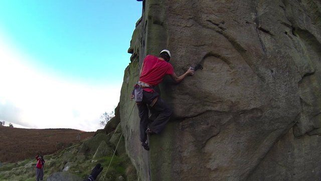 Trad climbing at it's best - Jacob Cook on The New Statesman E8