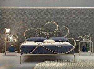Кованая кровать №107