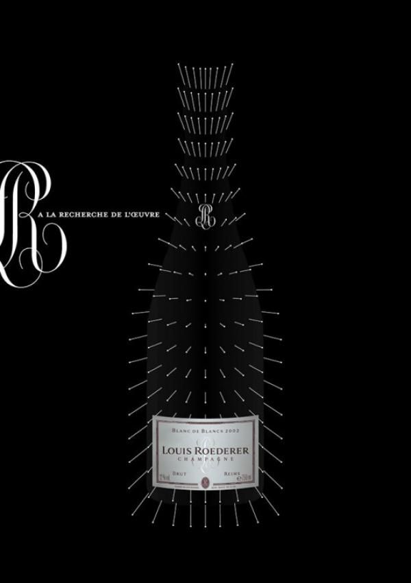 Louis Roederer champagne ad
