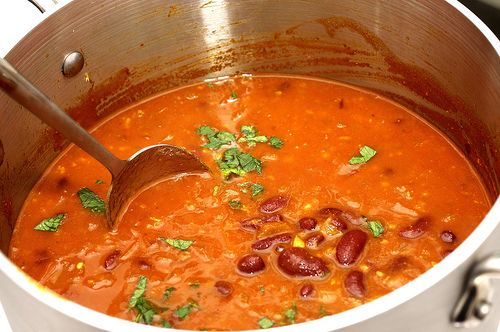 Smitten Kitchen's Red Kidney Bean Curry.  So delicious and cheap...after a one time investment in spices!
