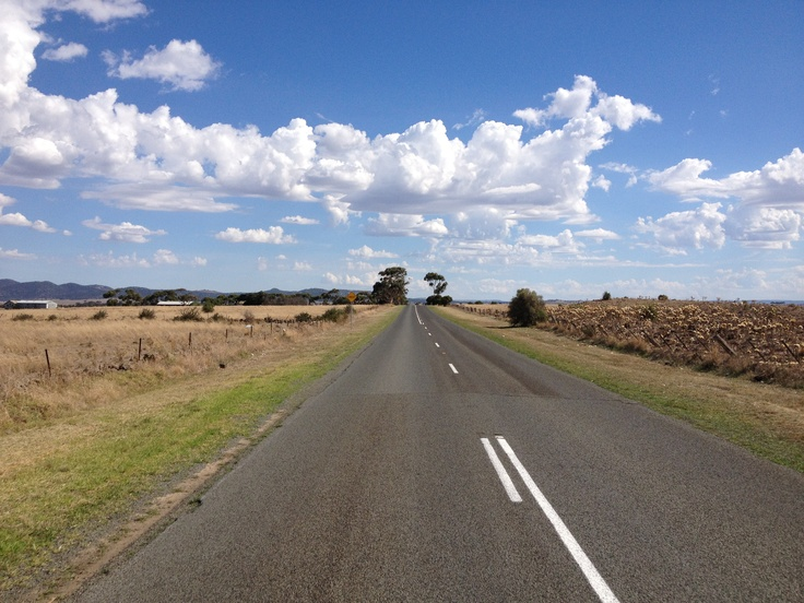 West of Melbourne in the middle of nowhere!