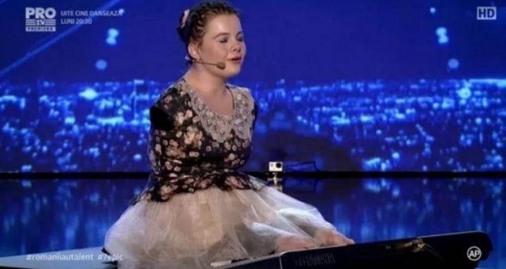 ROMÂNII AU TALENT 2017: Lorelai Moșneguțu, GOLDEN BUZZ. Mihaela Rădulescu: Mi s-au înmuiat genunchii-VIDEO