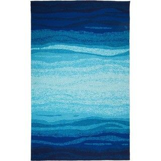M.A.Trading Hand Tufted Chinese Vista Blue/Turquoise Rug (9u0027 X 12