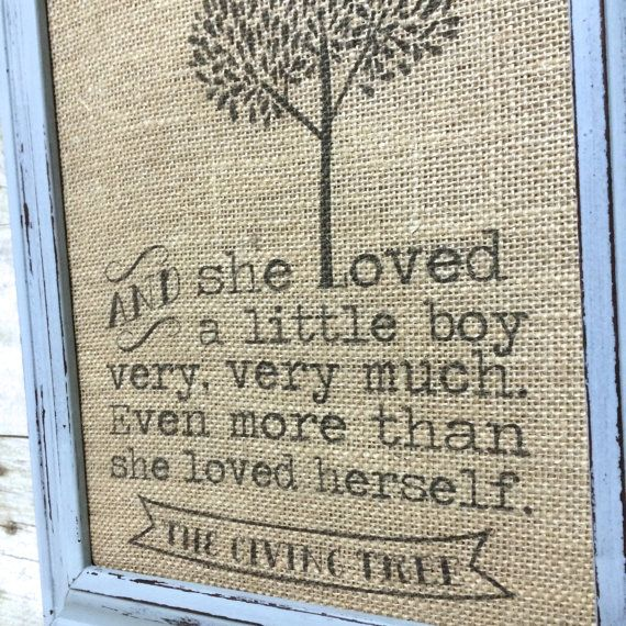 Giving tree quote.
