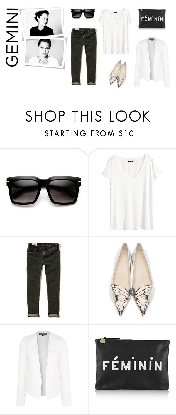 """gemini nov' 2015"" by la224 on Polyvore featuring H&M, Hollister Co., Sophia Webster, Topshop and Clare V."
