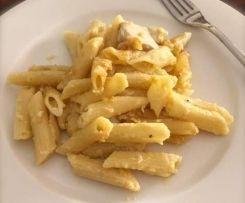 Chicken creamy pasta bake