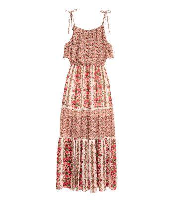 Dames | Jurken & Jumpsuits | Lange jurken | H&M NL