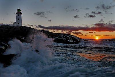 Sydney Habour in Cape Breton Island Nova Scotia Canada  -CC