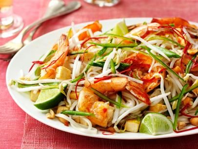 Shrimp Pad Thai from #FNMag: Food Network, Pad Thai Recipes, Thai Noodles, Dinners Recipes, Asian Food, Pads Thai Recipes, Shrimp Pads Thai, Cooking, Shrimp Pad Thai