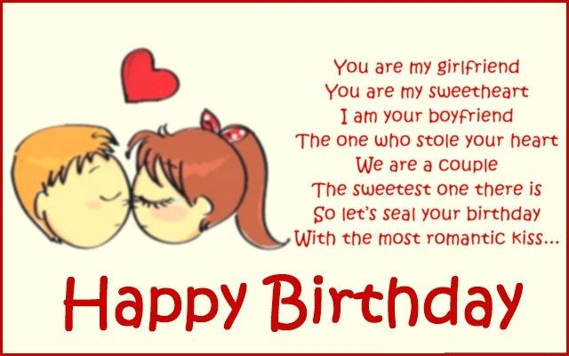 RomanticBirthday Poems For Girlfriend Funny