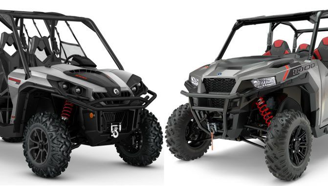 2017 Polaris General 4 vs. Can-Am Commander MAX XT: By the Numbers - ATV.com We compare these multi-passenger sport-utility UTVs