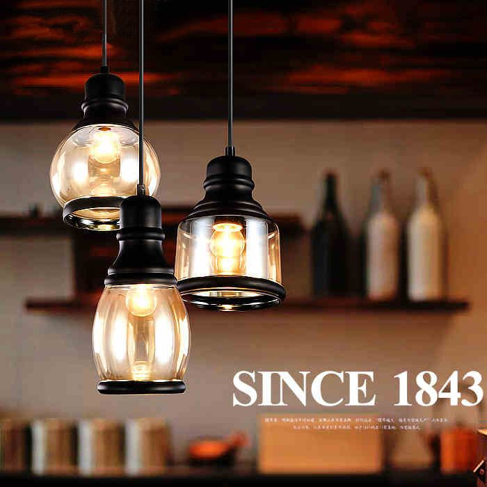 Find More Pendant Lights Information About Vintage Loft Glass Lamps Single Head Northern Europe