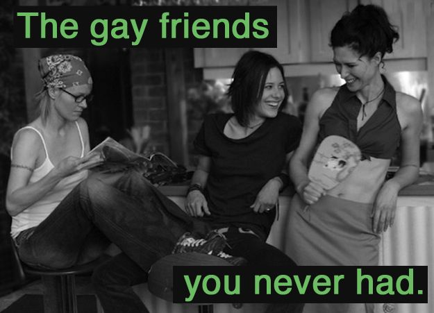 "SO TRUE. THE ACCURACY. ""What I Learned From The L Word."" #thelword #lesbian"