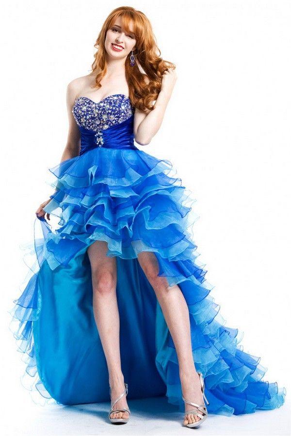 Fashionable Floor-Length Ball Gown Empire Sleeveless Cheap Short Prom Dresses UK