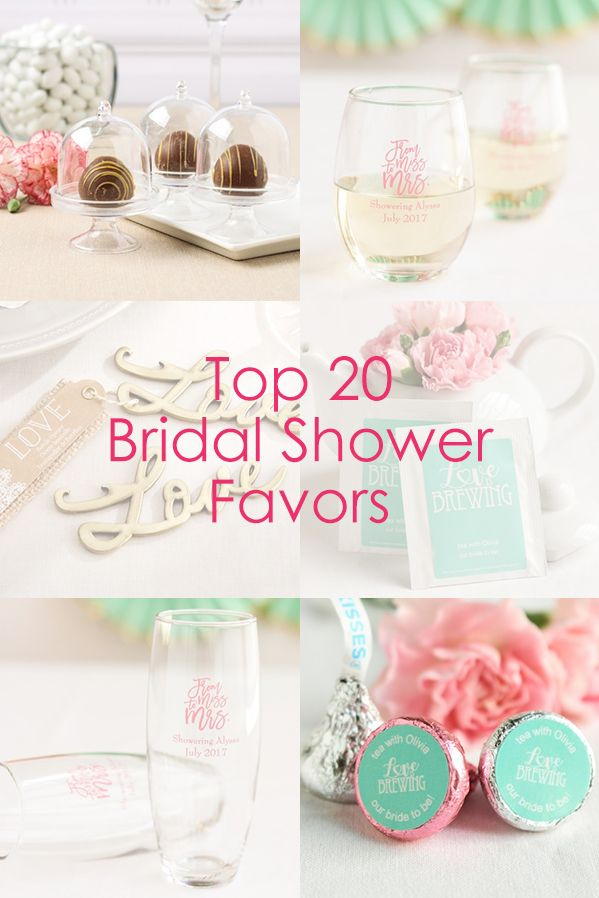 Planning A Bridal Shower Find The Best Favors All In One Place