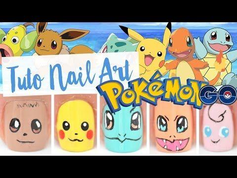 NAIL ART ♡ POKEMON GO - YouTube