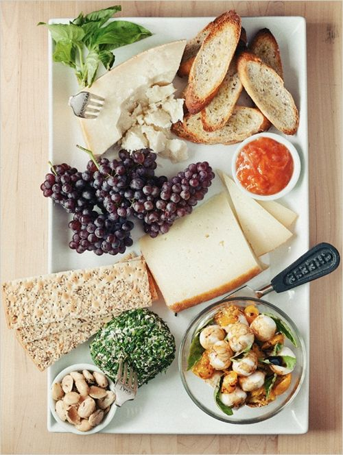 Master the cheese plate.