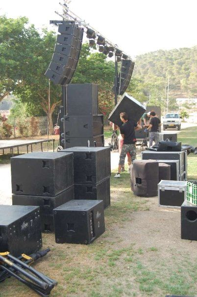 VIBE with a big combo sound system