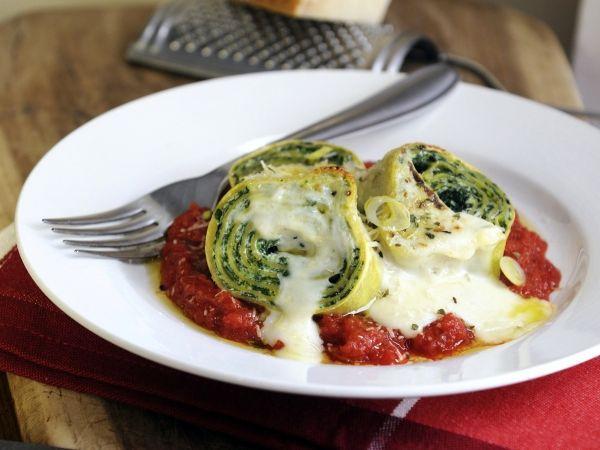 Pastarolletjes met spinazie en ricotta - Libelle Lekker!