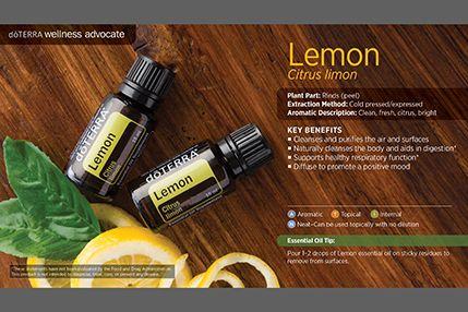 doTerra Power Point Image - Single Oil - Lemon
