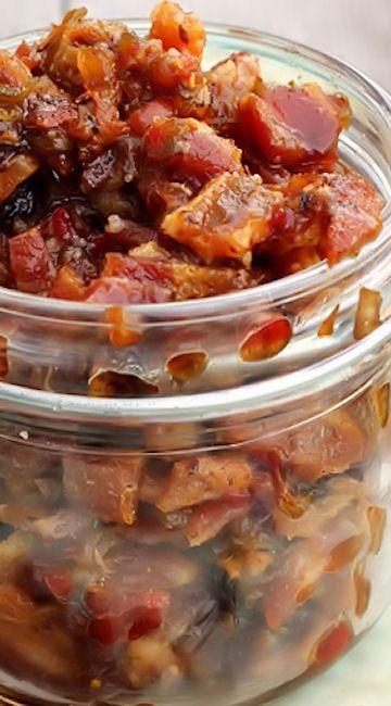 ... Bacon Breakfast, Homemade Bacon, Recipe, Bacon Jam, Better With Bacon