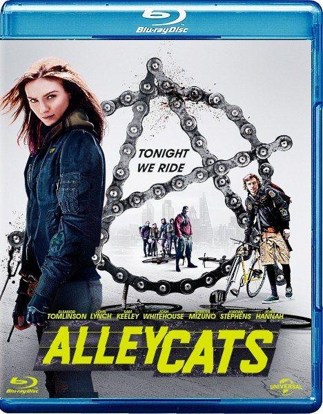 Уличные коты / Alleycats (2016/BDRip/HDRip)  Когда курьер на велосипеде Крис стал свидетелем чего-то похожего на убийство, его первой инстинктивной реакцией было поскорее бежать оттуда. Но потом его любопытство потянуло его назад и он вскоре оказался втянутым в мир коррупции, политической власти и нелегальных гонках на велосипедах.