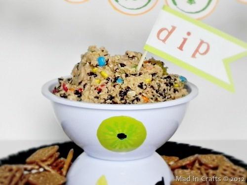 Monster bowl for dip