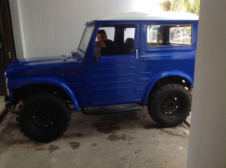 My LJ80 4x4 at #PuriArgenia Carport
