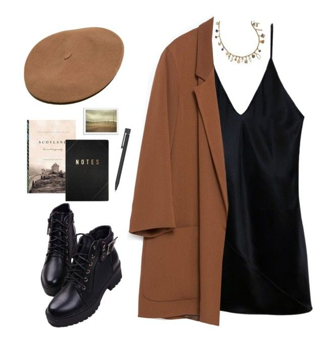 """""""Untitled #135"""" by kell-a ❤ liked on Polyvore featuring Tory Burch, Fleur du Mal, Zara and kikki.K"""