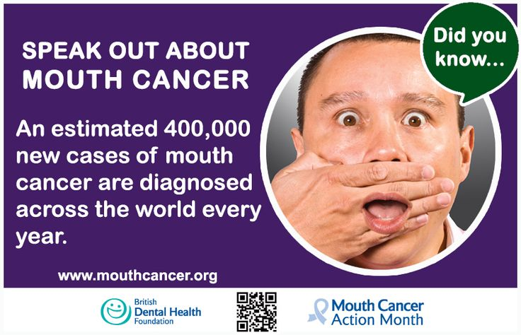 An estimated 400,000 new cases of mouth cancer are diagnosed across the world every year. #MCAM http://www.mouthcancer.org/page/home