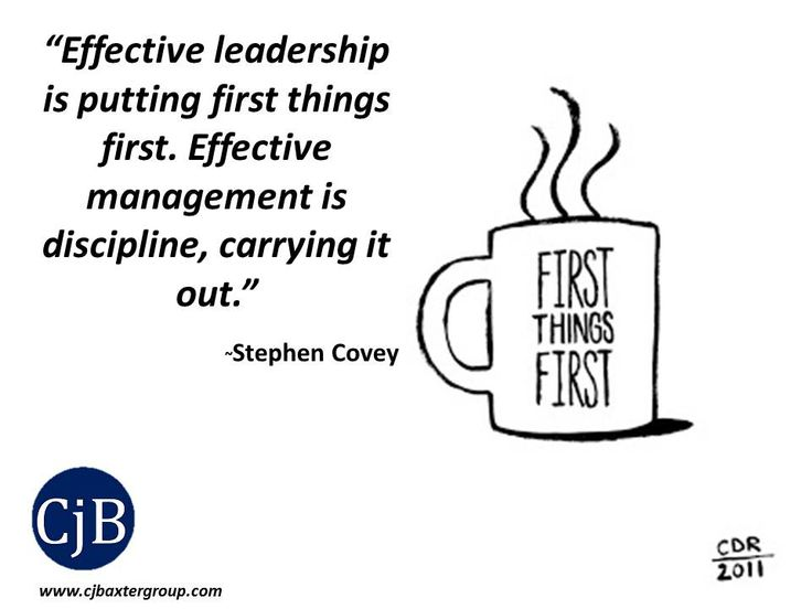 How to effectively manage leadership