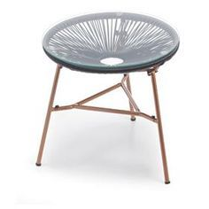 OWN: Kmart side table with copper legs
