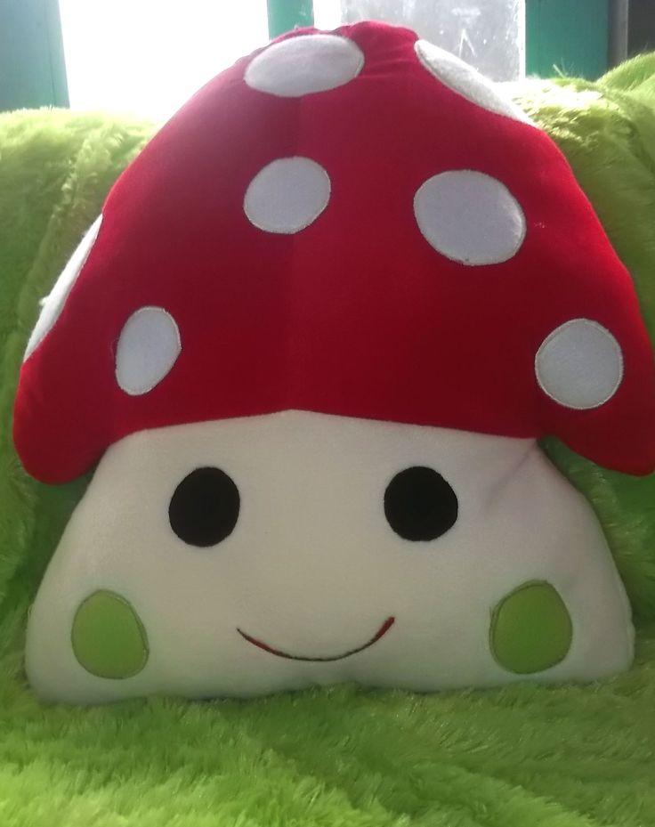 #mushroom_pillow #bantal_Jamur
