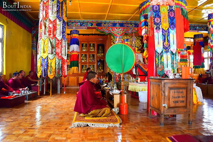 Our #hotel at #Kaza was KUNPHEN SAKYA, which is right besides the 'jewel of Kaza' – the #Sakya #Monastery. The #mornings here are #glorious, as you can hear the #gentle sounds of the #chants and #prayers filter in from the monastery. #boutindia #adventuretravel #spitivalley